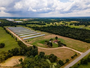 ADAIR COUNTY, OK | POULTRY FARM WITH LAND & HOME FOR SALE