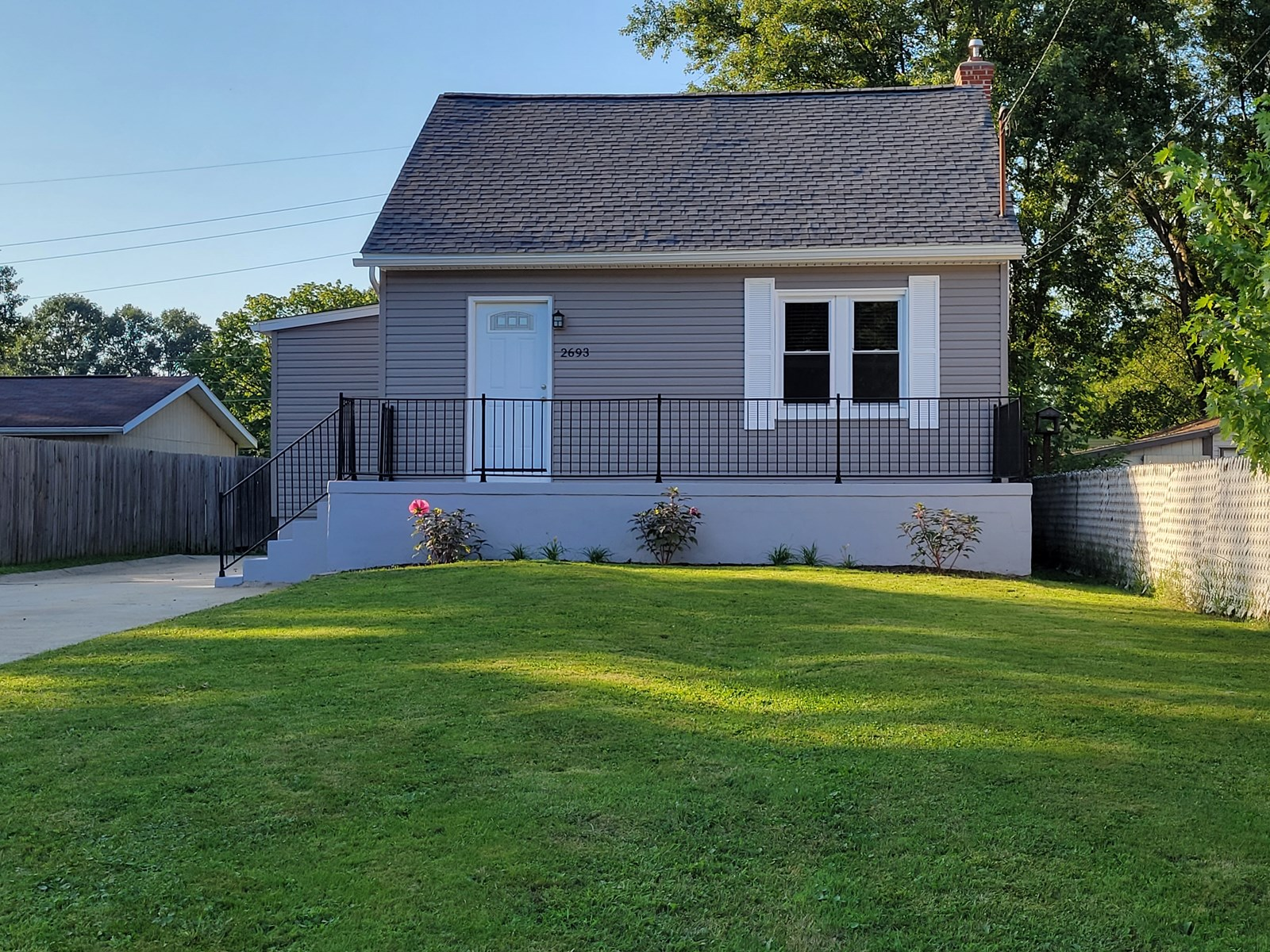Akron Home with Double Lot and Large Deck