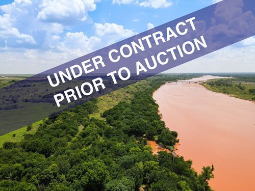 RED RIVER HUNTING PROPERTY UNDER CONTRACT PRIOR TO AUCTION