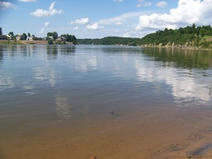 CAMPING WATERFRONT LOT FOR SALE ON TN RIVER
