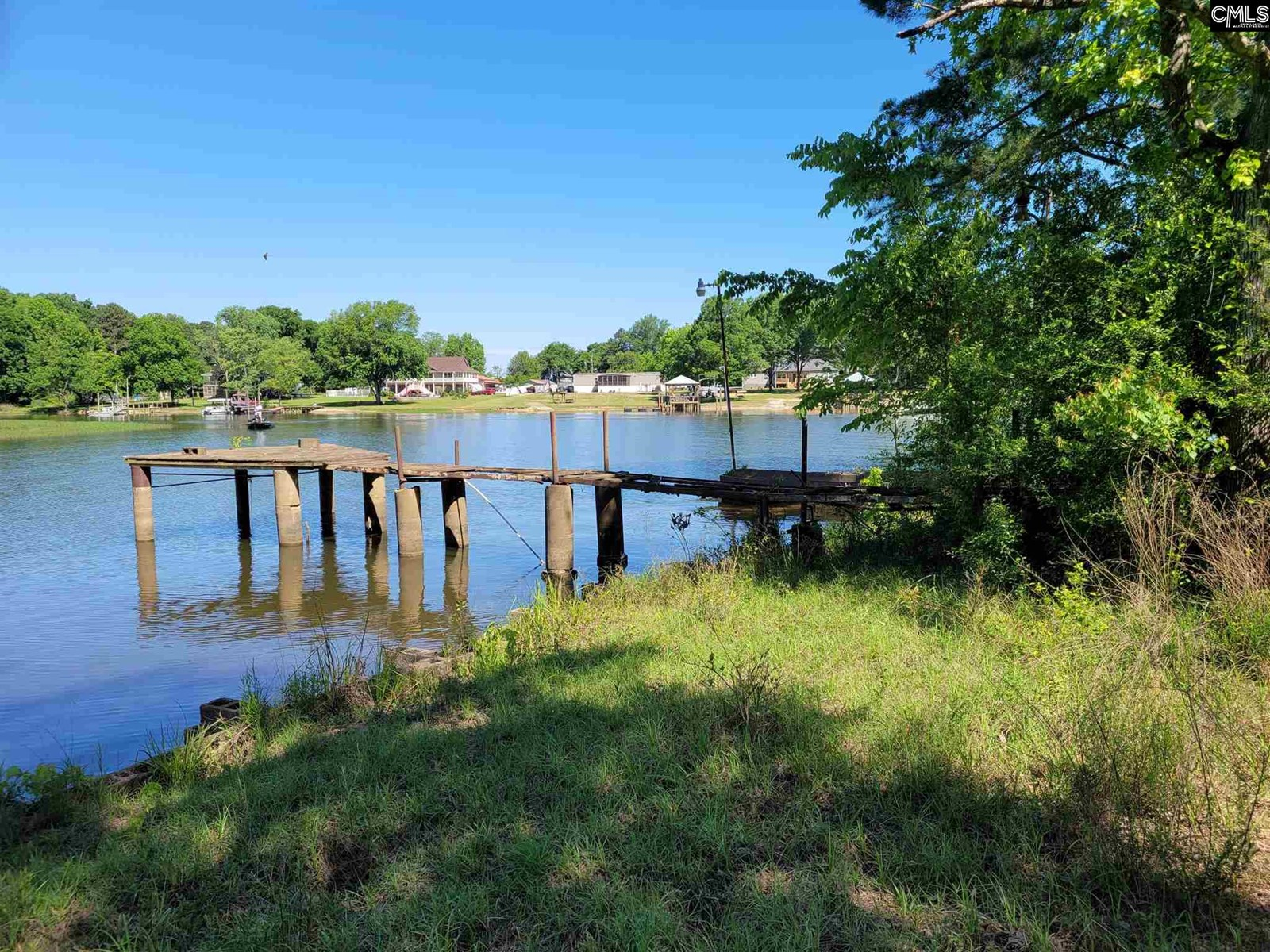 Lake Wateree Building Lot with Dock, and Boat Ramp