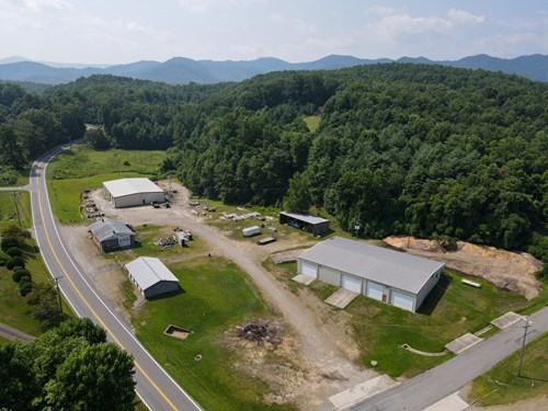 SAWMILL WITH 4.66 ACRES FOR SALE IN PATRICK COUNTY, VA