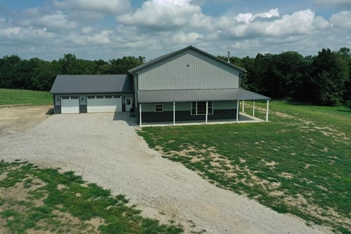 Custom New Construction Home on 25 Acres