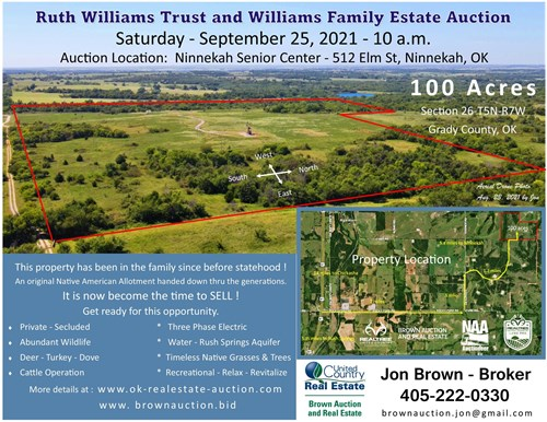 Oklahoma Land For Sale - Grady County - Hunting - Cattle