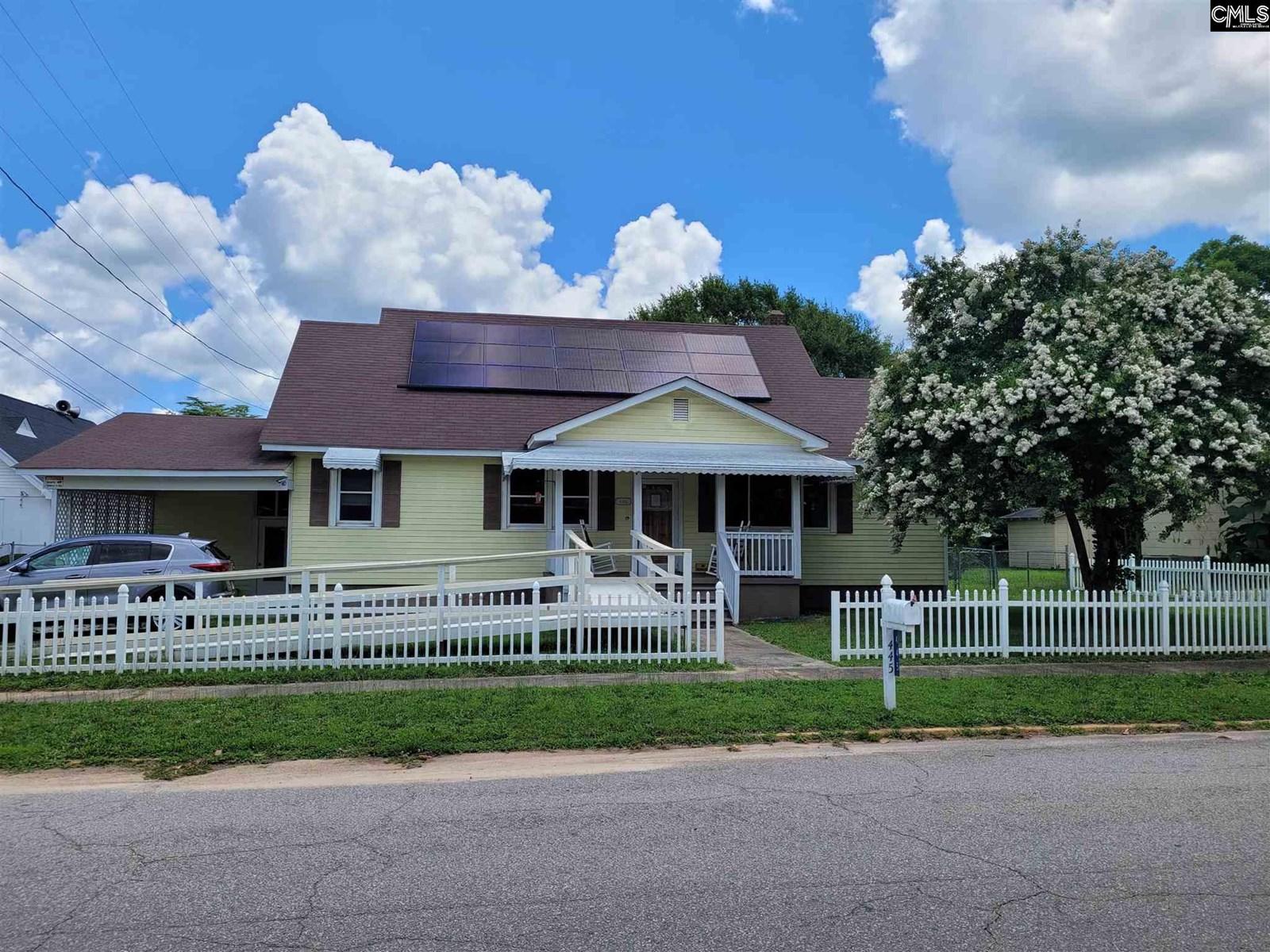 Historic Winnsboro, SC 4Bed/2Bath Home on Fenced Corner Lot