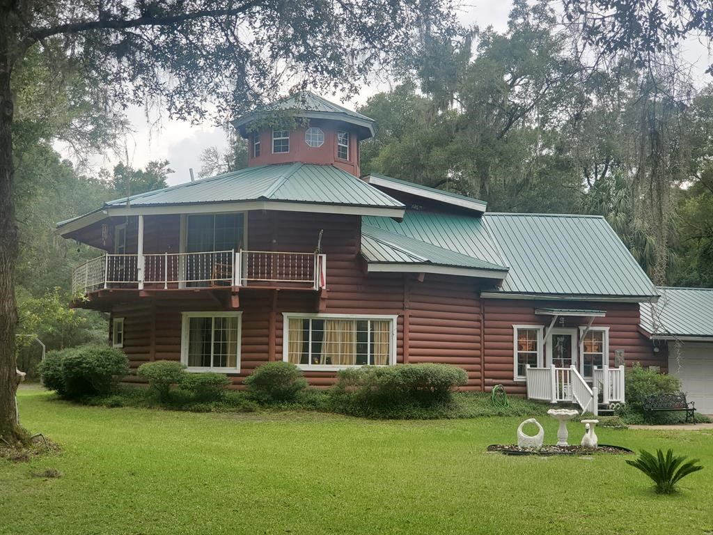 Log home, Homes only S/D, Chiefland, FL, Levy County