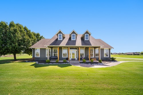 Beautiful Country Home For Sale In Pryor, Oklahoma