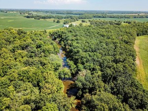 TRACT 5 - 47 AC +/- FOR AUCTION IN AUDRAIN COUNTY, MISSOURI