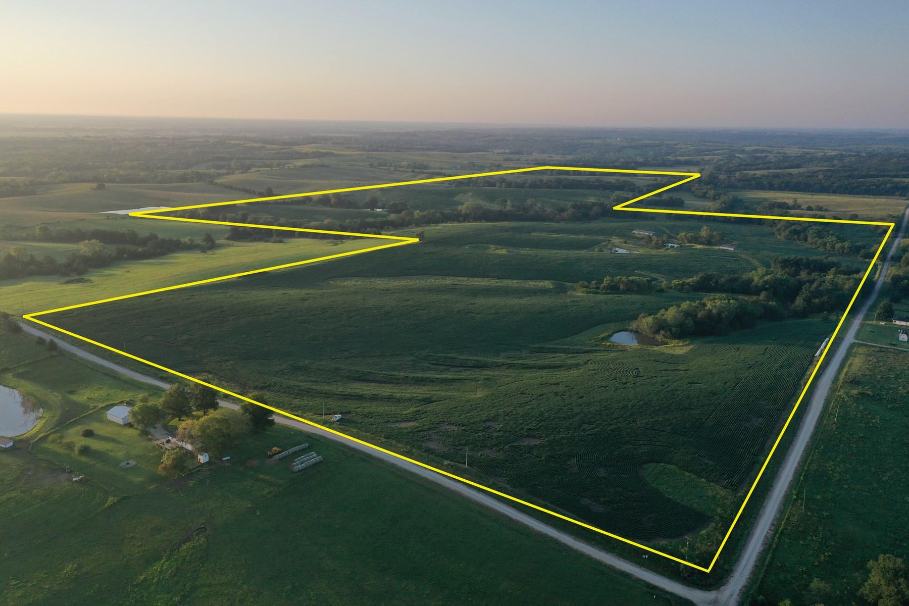 For Sale 180 Acres m/ Row Crop Farm