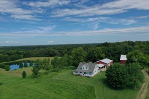SOUTHEAST ILLINOIS FARM FOR SALE | COUNTRY HOME