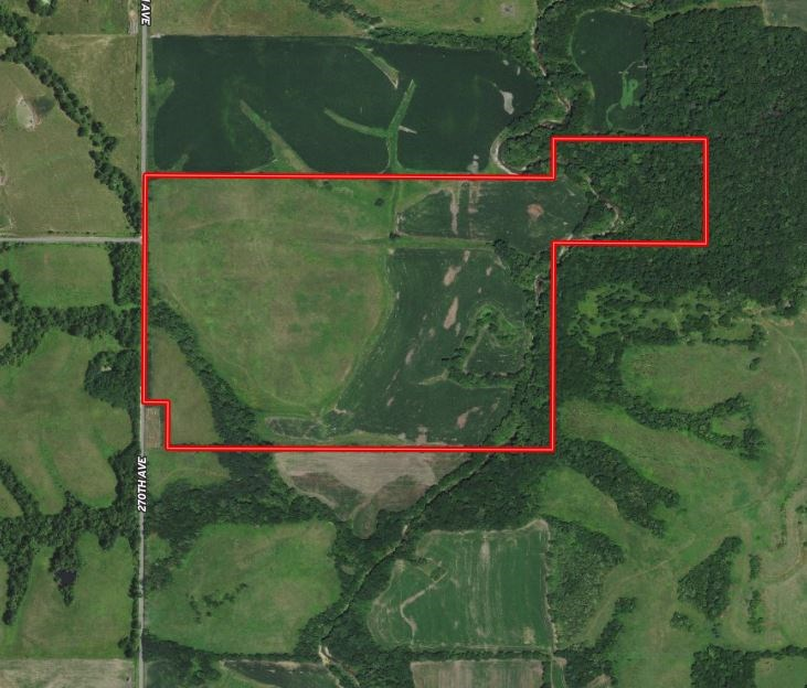 Hunting Farm with Income Ringgold Co. IA For Sale
