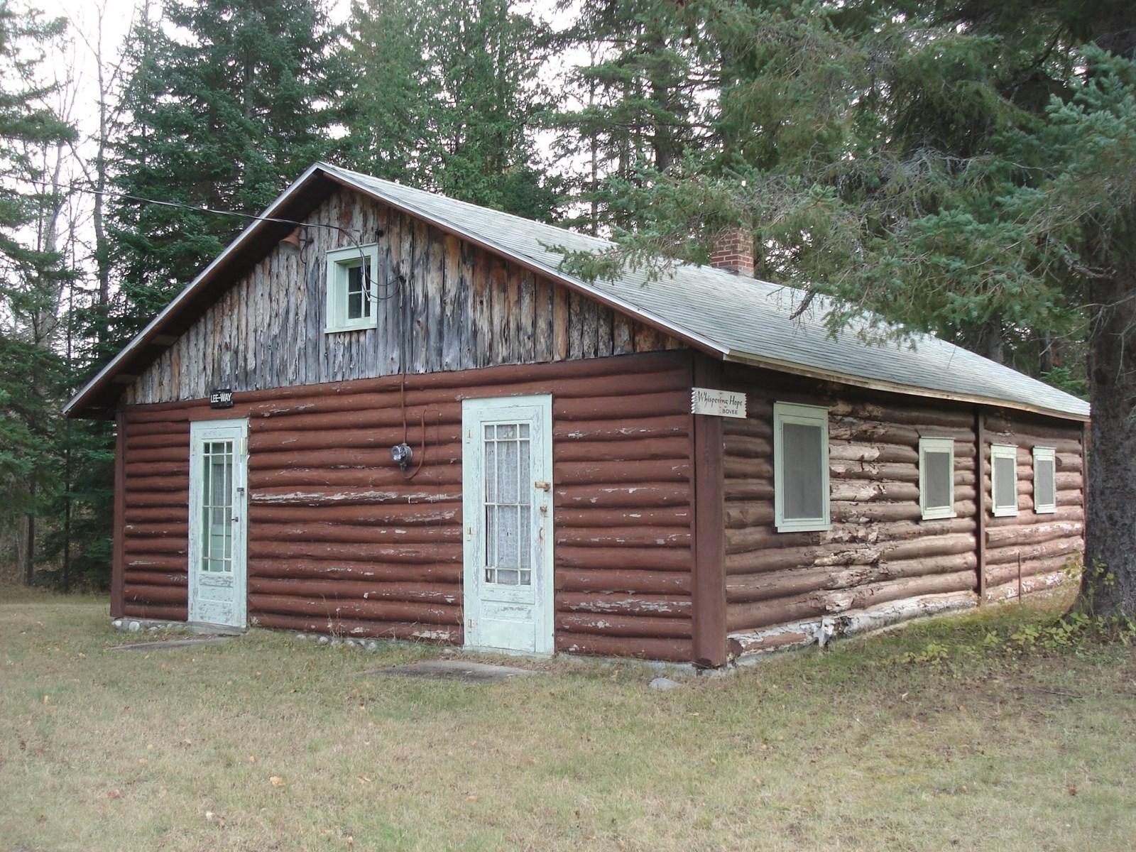 100 Y/O Cabin on .98 Acre near Thunder Bay River, Atlanta MI