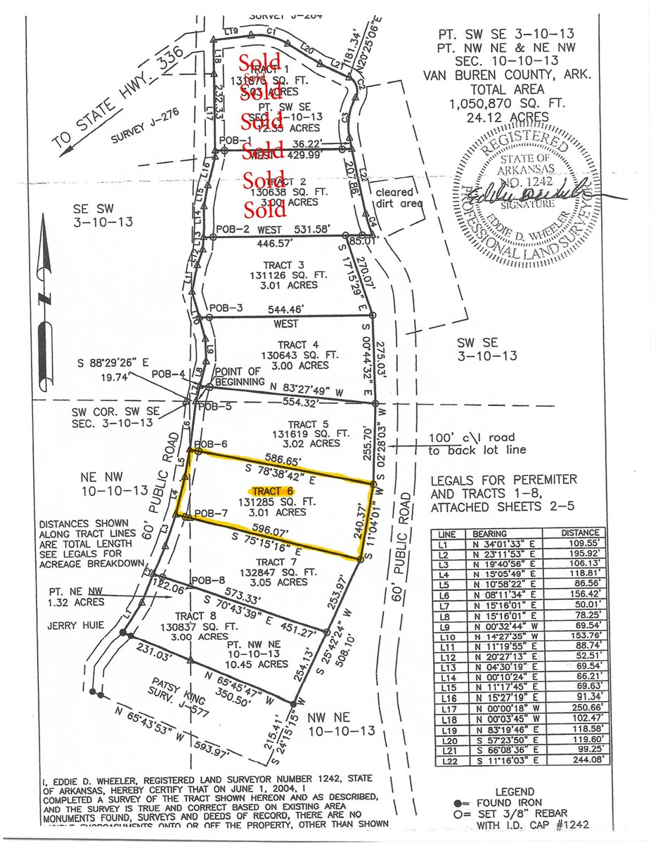 Greers Ferry Lakeview Lot For Sale Arkansas