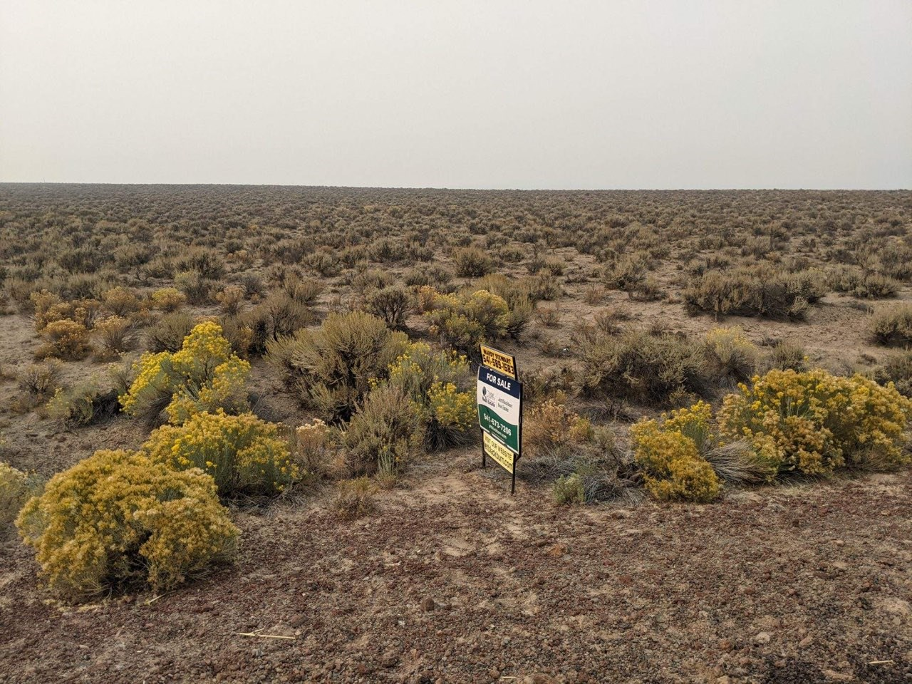 39+/- acres in Brothers, Oregon