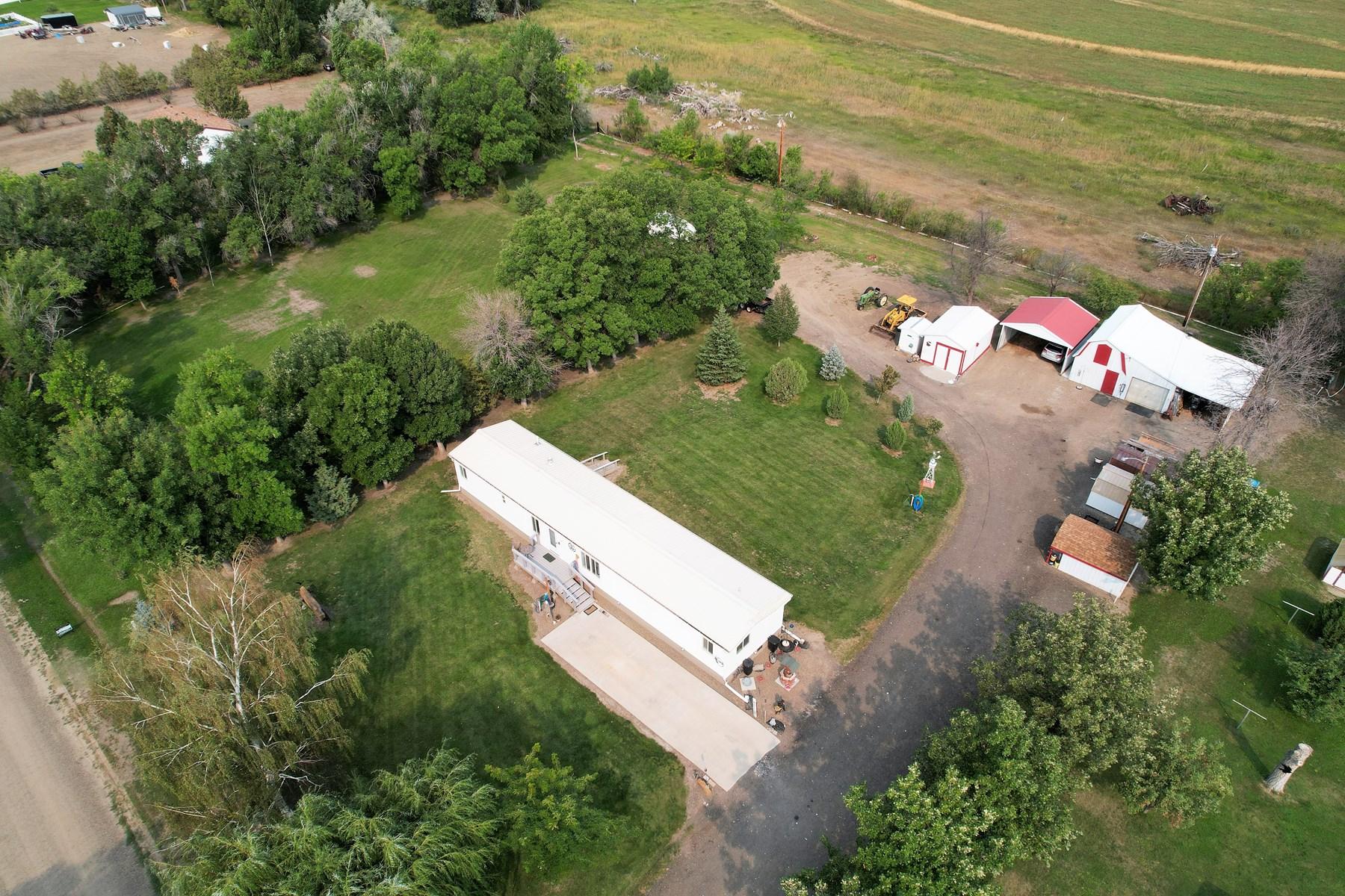 1.69 Acres 5 Sheds, Mobil Home 3 Bedroom 2 Bath
