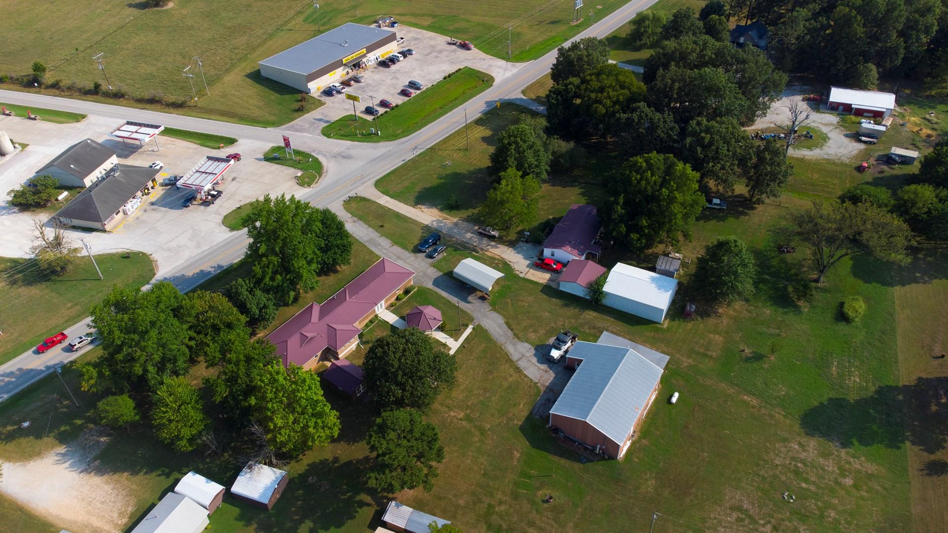 Commercial Shop Building RV Home Bergman Arkansas For Sale