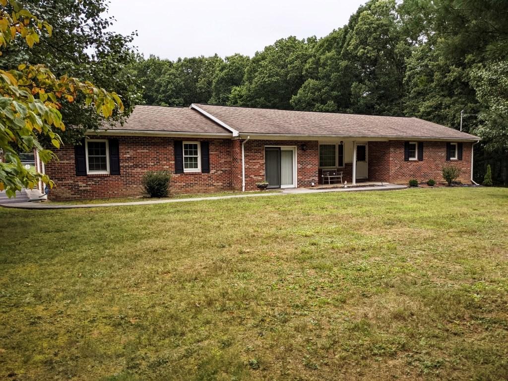 Brick Rancher - fenced yard - Wytheville, VA
