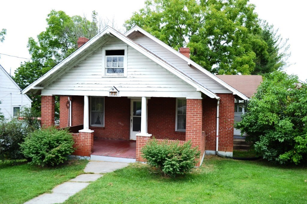 Historic brick home in Wytheville, VA zoned business