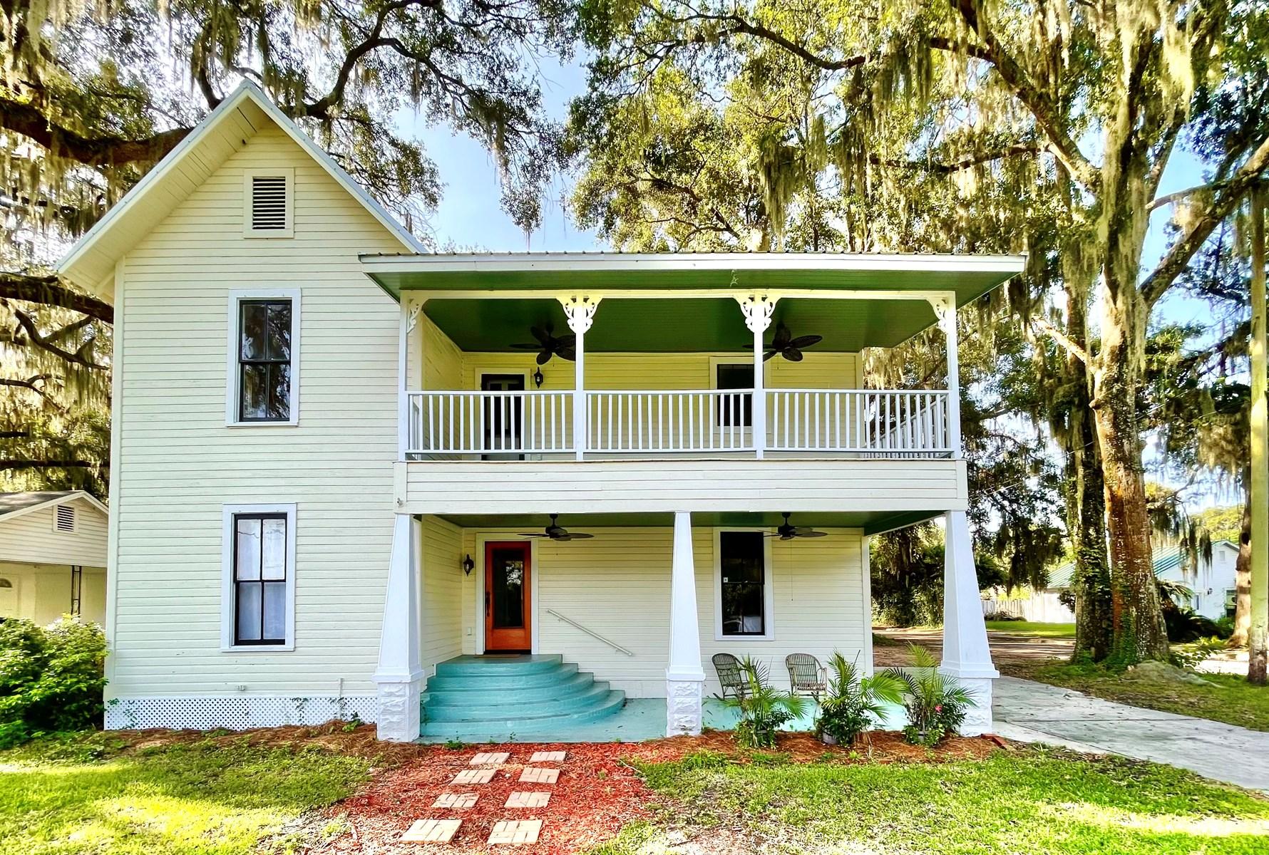 Historic Home North Florida Restored Historic Modern Home