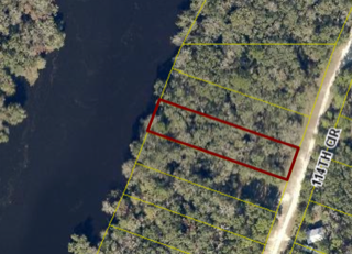 .43 ACRE RIVER FRONT ON SUWANNEE RIVER FOR SALE
