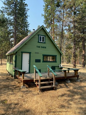 OFF THE GRID CABIN FOR SALE IN MODOC COUNTY!