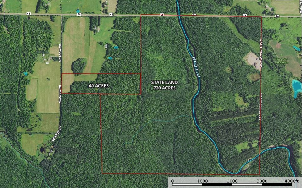 40 Acres Of Prime Hunting Land For Sale - Sturgeon Lake MN