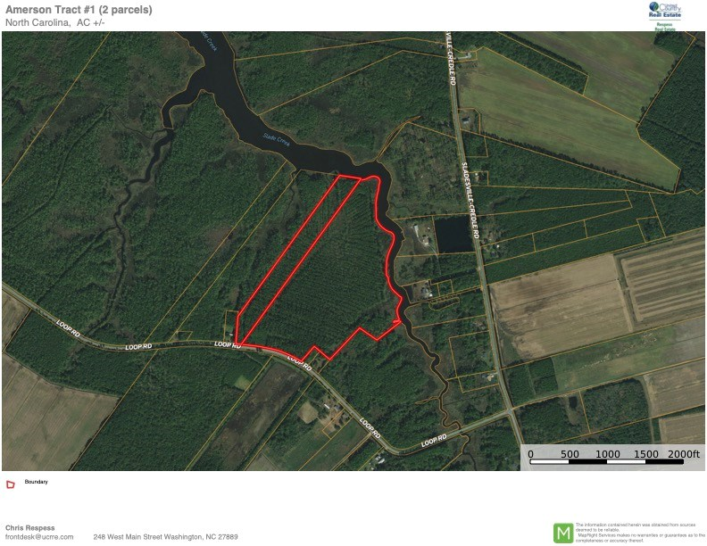 Recreational Timberland for Sale in Hyde County, Scranton,NC