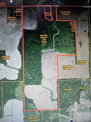 FARM & HUNTING LAND WITH HOME FOR SALE   CLINTON COUNTY, MI