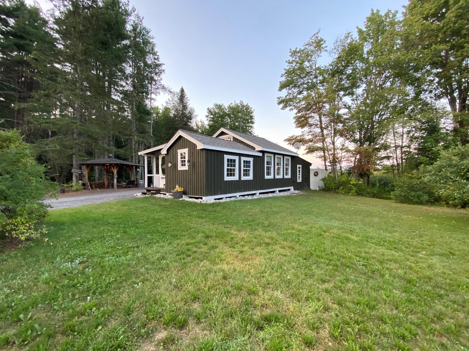 Modern farmhouse tiny home for sale