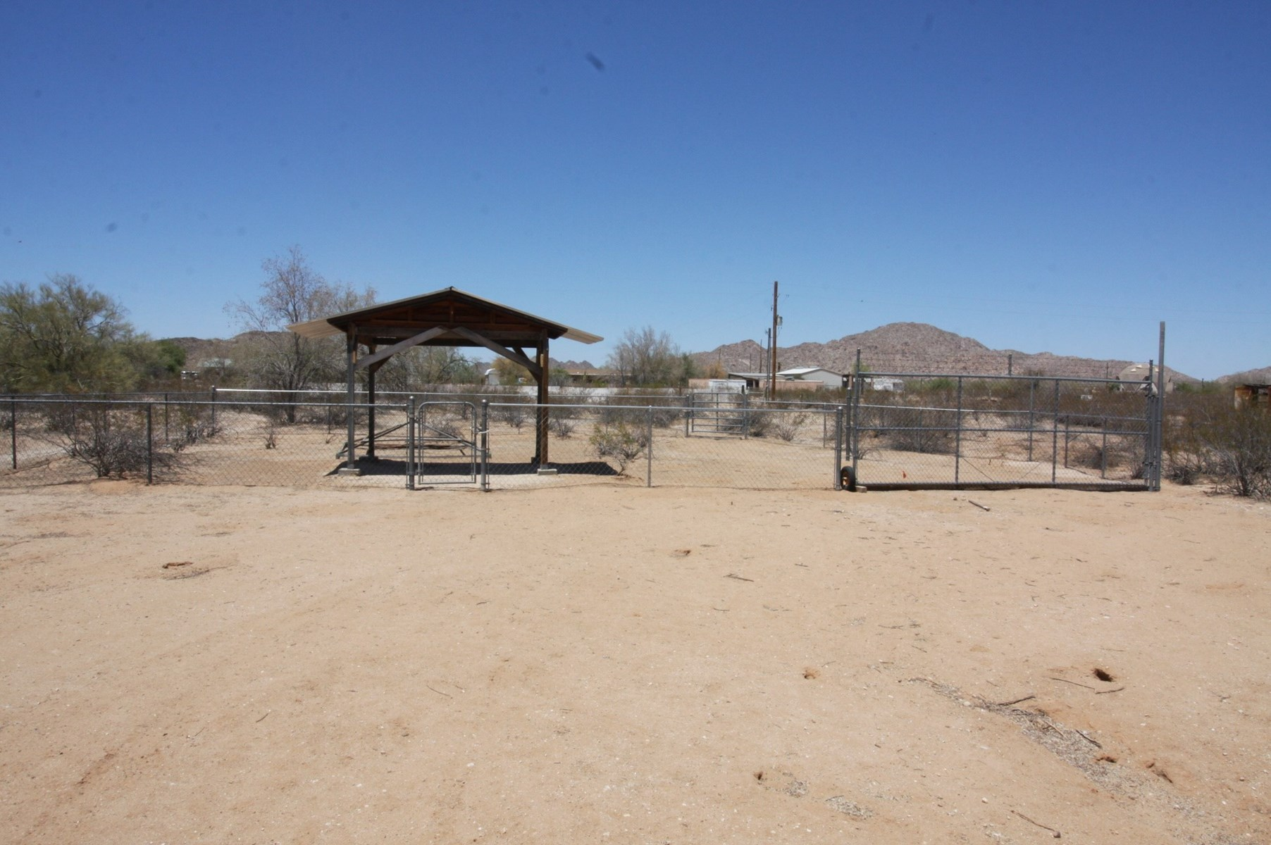 Equine property 3.45 acres with manufacured home Arizona