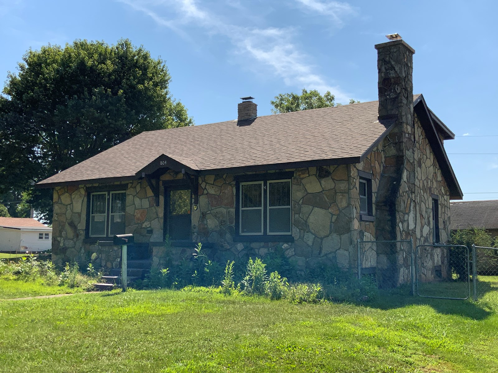 Native Stone House in Town in South Central Missouri