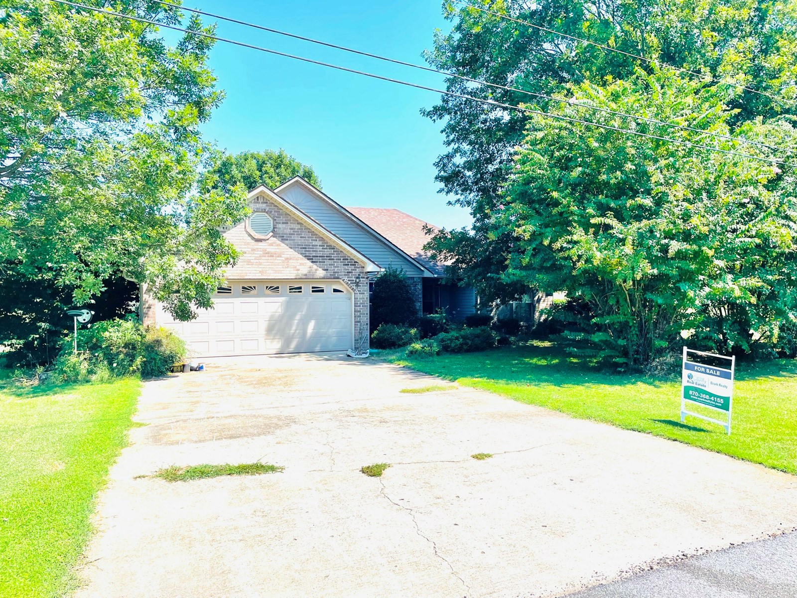 Home for sale in North Central Arkansas