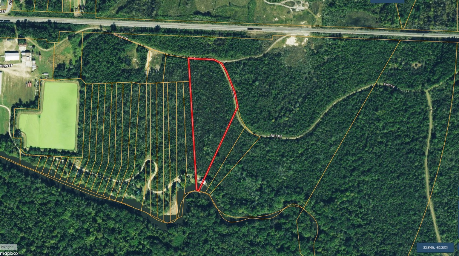 Ogeechee Riverfront property 7.55 acres