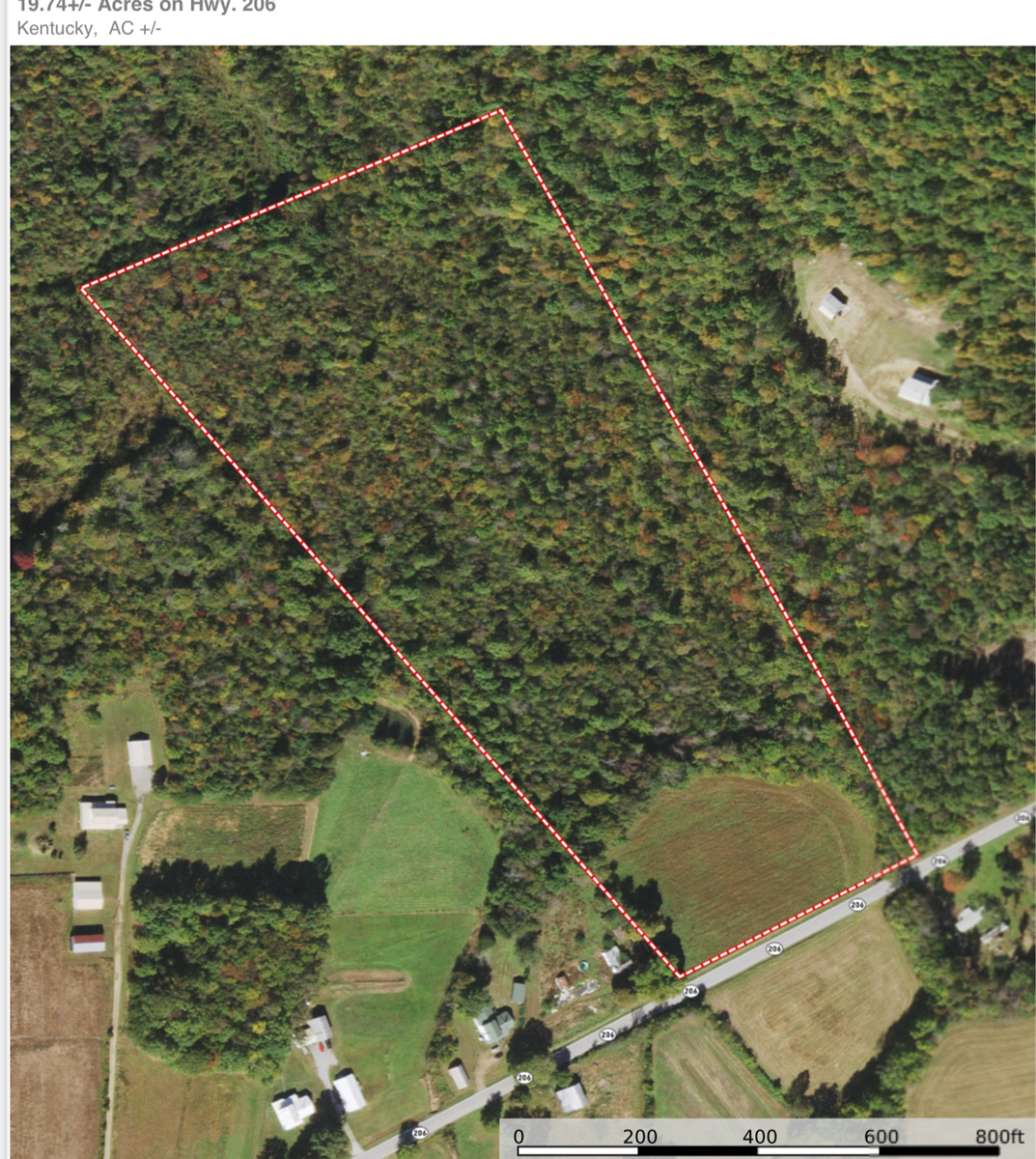 RARE FIND UNRESTRICTED 19.74 +/-  ACRES