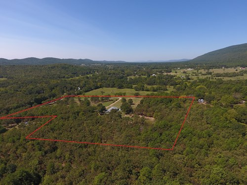 Buffalo Mountain Hobby Farm and Country Home For Sale