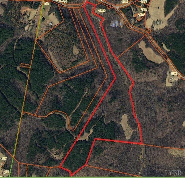67+/- Acres in Pittsylvania County, VA