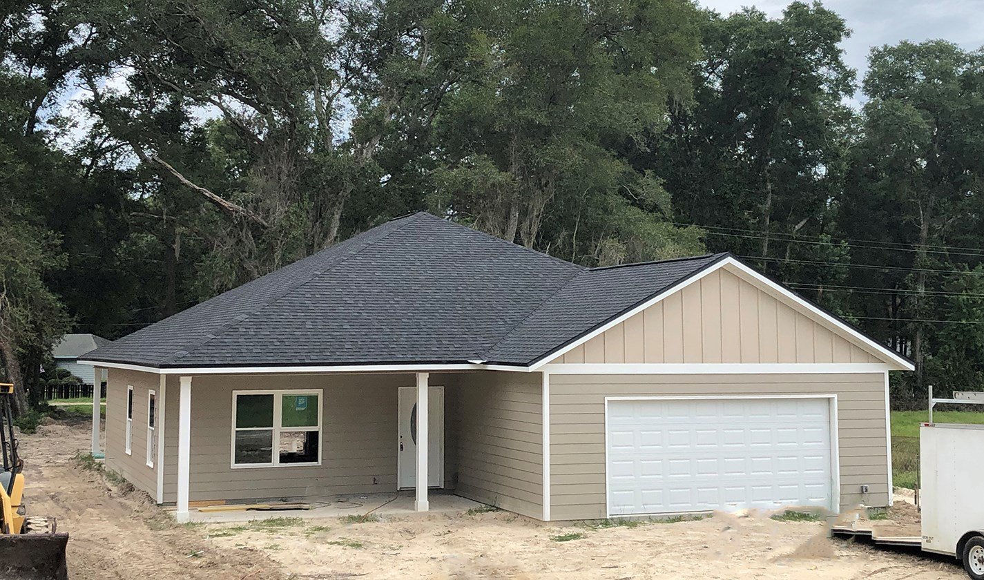 NEW CONSTRUCTION HOME FOR SALE IN FORT WHITE, FLORIDA