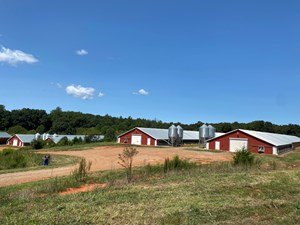 POULTRY FARM FOR SALE IN CONNELLY SPRINGS NC
