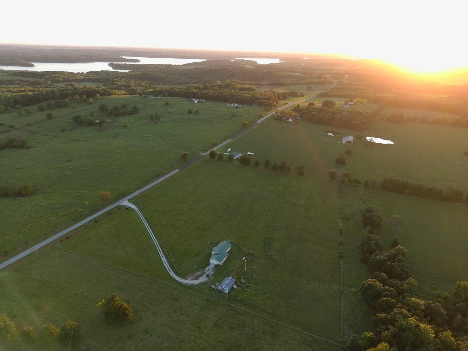Beautiful Country Home on 5 Acres near Stockton Lake