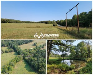 PASTURE AND HUNTING LAND WITH WATER FOR SALE IN MO OZARKS
