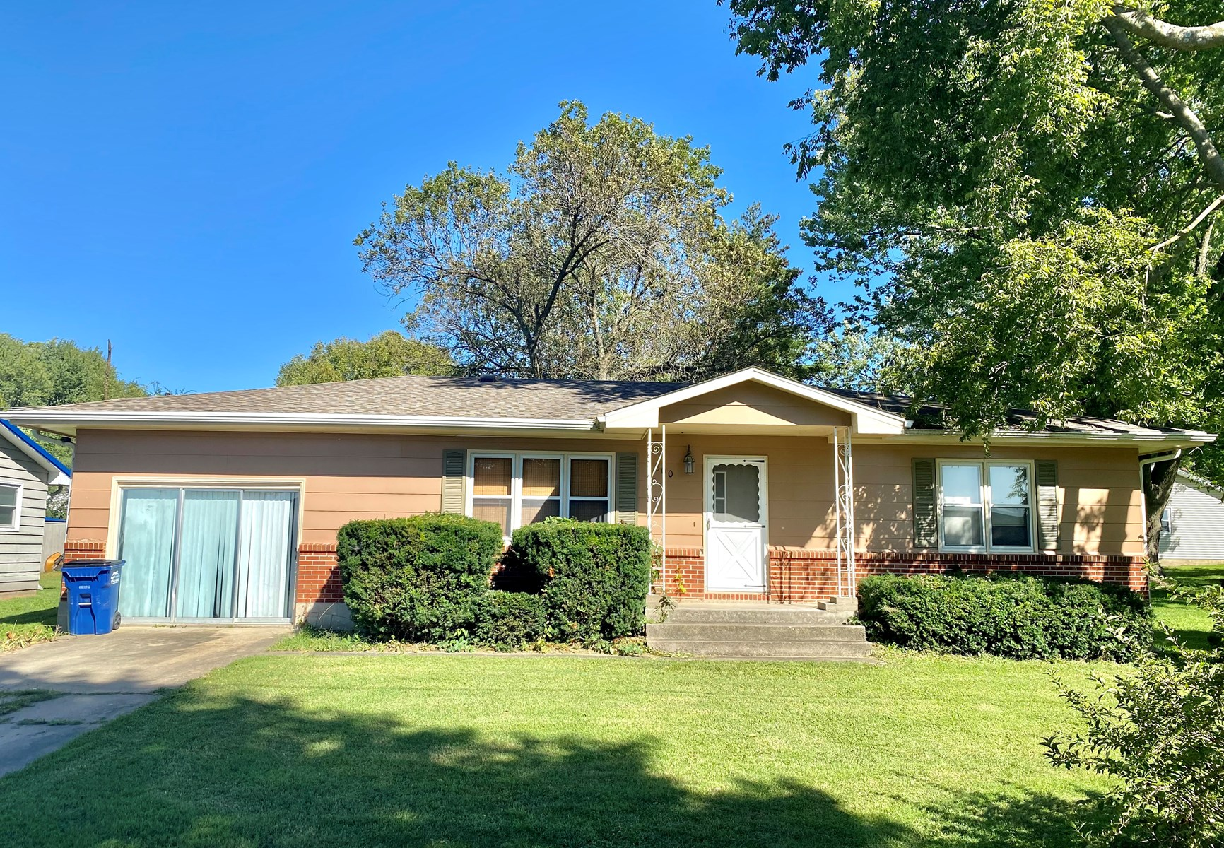 Ranch Home with Large Shop For Sale in Princeton MO