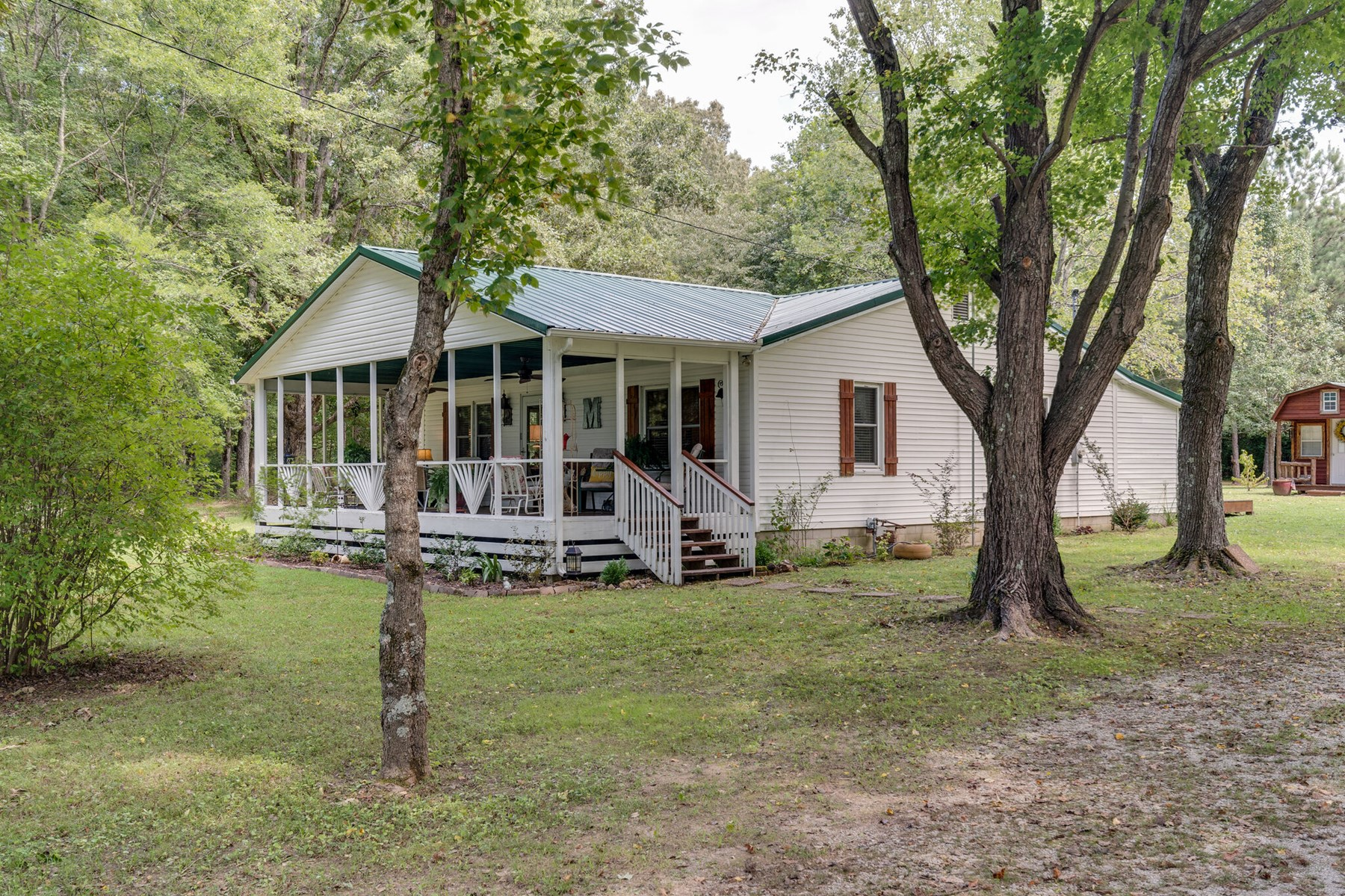 Country Home with Acreage for Sale in Hohenwald, Tennessee