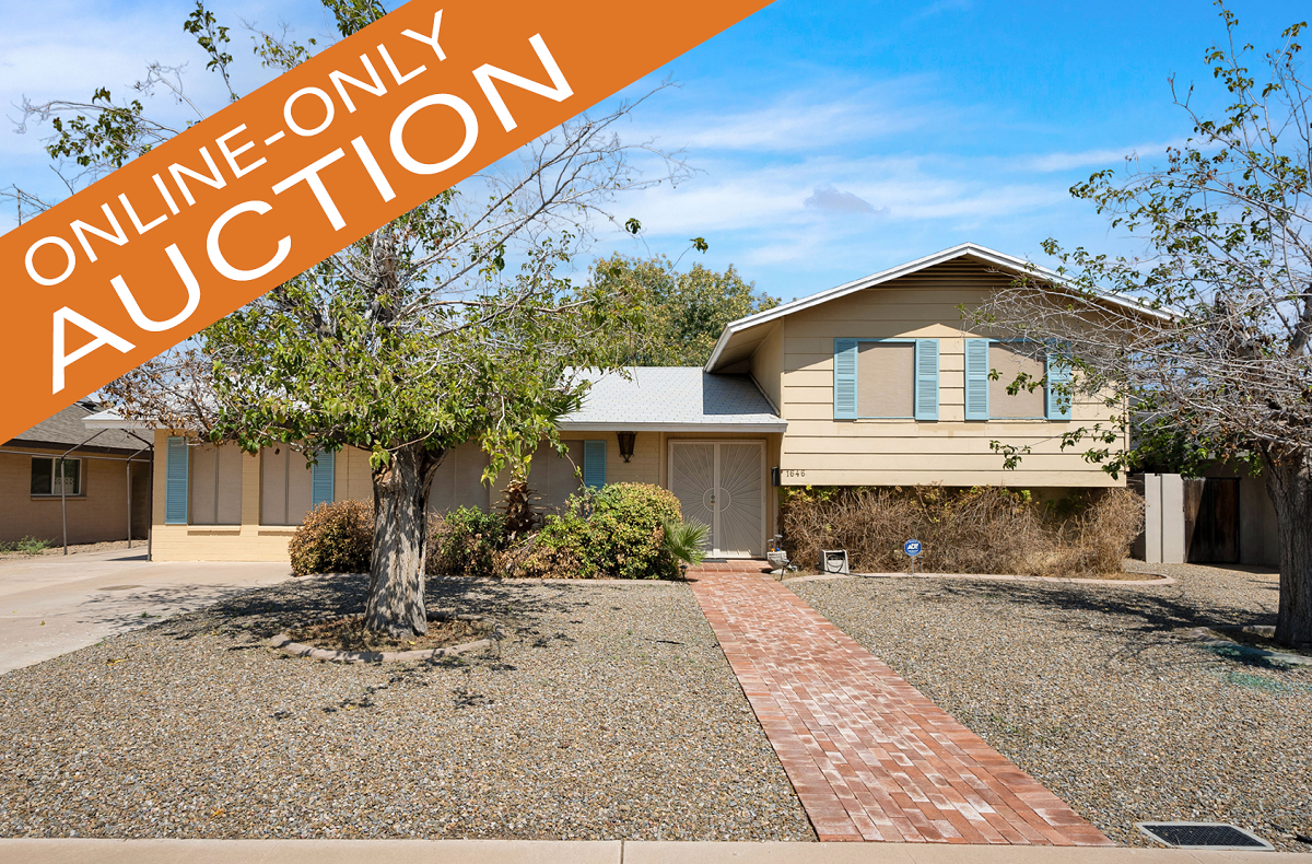 4 BEDROOM TEMPE AZ ESTATE ORDERED HOME AND CONTENTS AUCTION