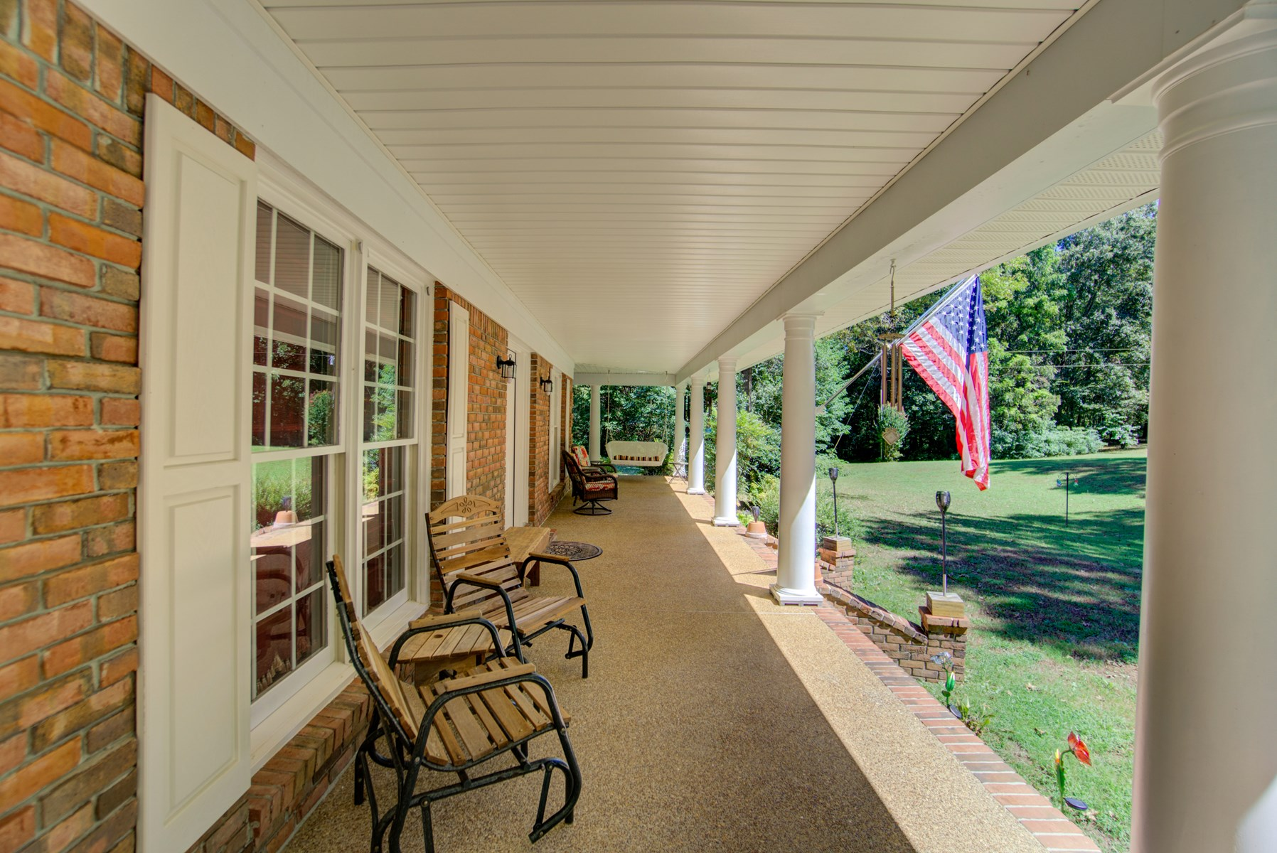 Long Winding Drive leads to this custom built home with 21A