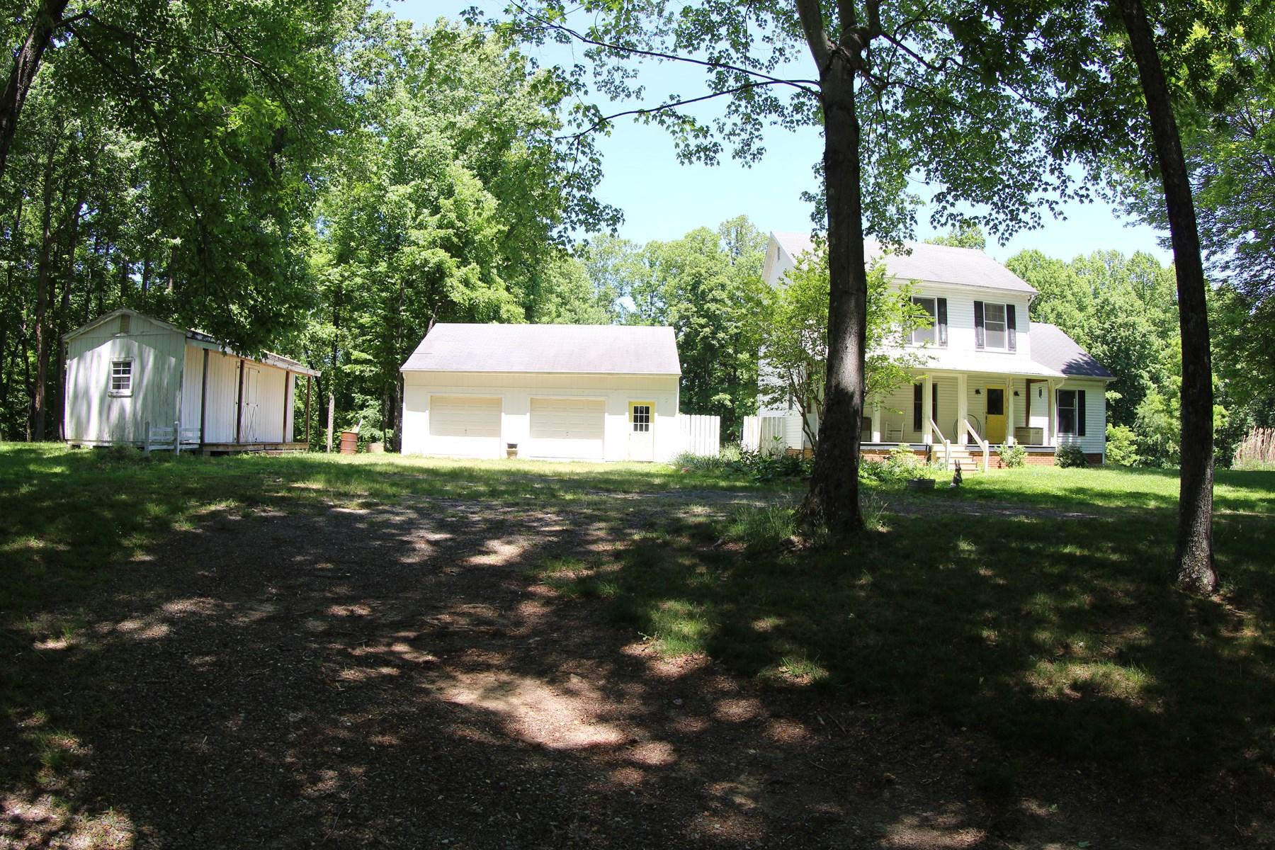 2 STORY MODULAR FARM HOUSE LOCATED IN PATRICK COUNTY, VA
