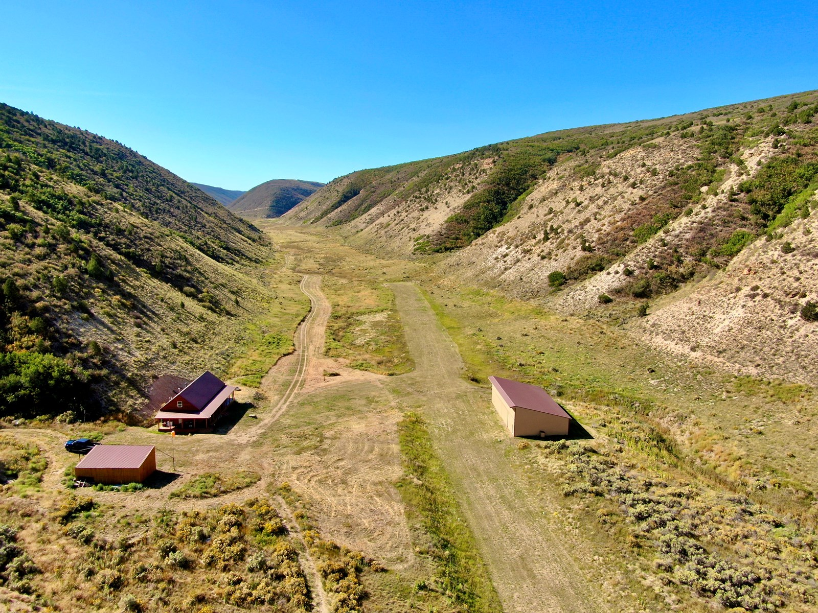 Colorado Mountain Hunting Ranch with Lodge and Airstrip