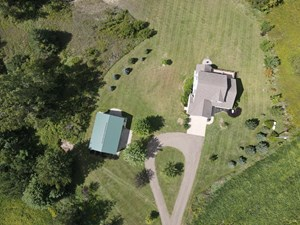 HUNTING LAND & COUNTRY HOME FOR SALE   IONIA COUNTY MICHIGAN