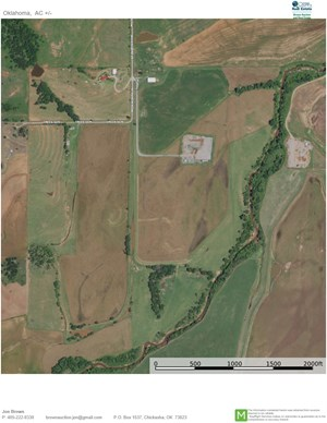 LAND FOR SALE - COUNTRY HOME - FARM - SHOP - 20 & 100 ACRES