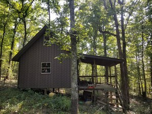 HUNTING CABIN AND 40 ACRES FOR SALE, KINGSTON, ARKANSAS