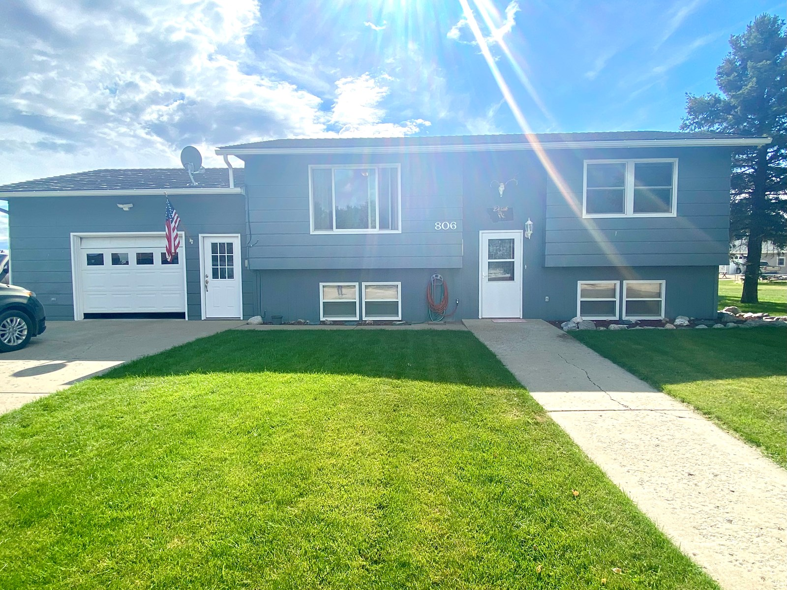 4 Bedroom, 2 Bath House with  Large Fenced Yard and Garden